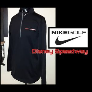 Never Worn! Nike Golf Disney Speedway Zip Up!